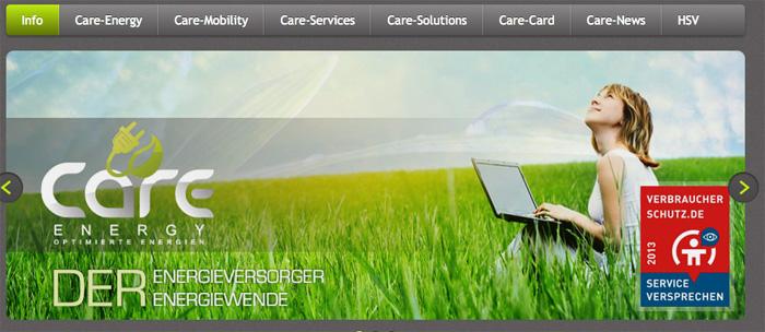 Verbraucherschutz Care Energy
